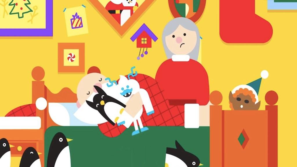 Cómo seguir el recorrido de Santa Claus a través de Google - Captura de pantalla