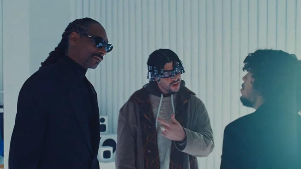 Estrena Bad Bunny video musical junto a Snoop Dogg - Snoop Dogg y Bad Bunny en Hoy Cobré. Captura de pantalla