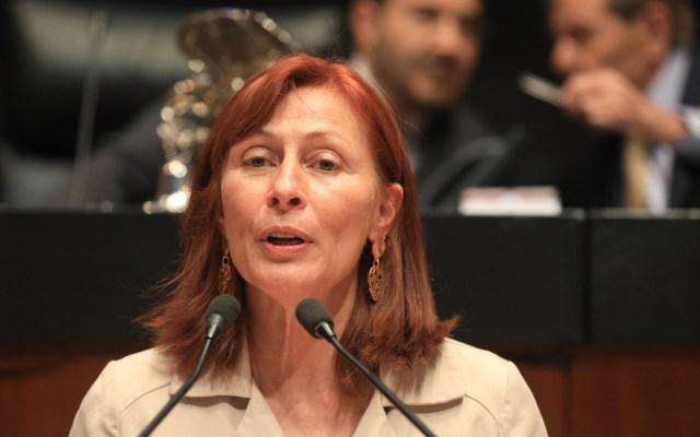 Empresas españolas colaborarán con la nueva secretaria de Economía de México - Tatiana Clouthier. Foto de Cámara de Diputados