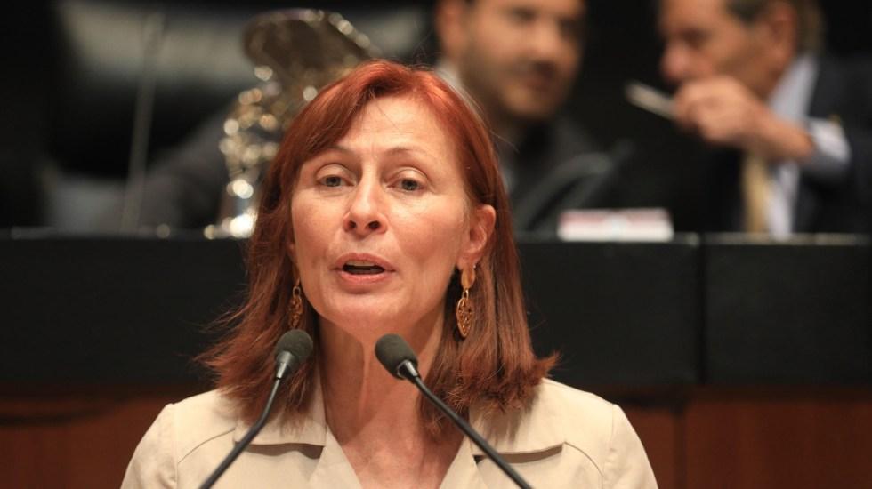 Tatiana Clouthier toma posesión como nueva secretaria de Economía - Tatiana Clouthier. Foto de Cámara de Diputados