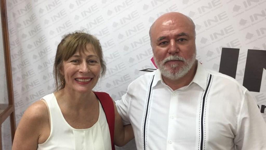 Chocan los hermanos Clouthier por renuncia de Alfonso Romo a la Oficina de Presidencia - Tatiana y Manuel Clouthier. Foto de @ClouthierManuel