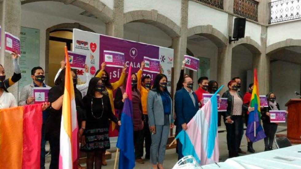 Tlaxcala aprueba matrimonio igualitario y se convierte en el estado número 22 en garantizarlo - Tlaxcala aprueba matrimonio igualitario; se convierte en el estado número 22 en garantizarlo. Foto Twitter @YaajMexico
