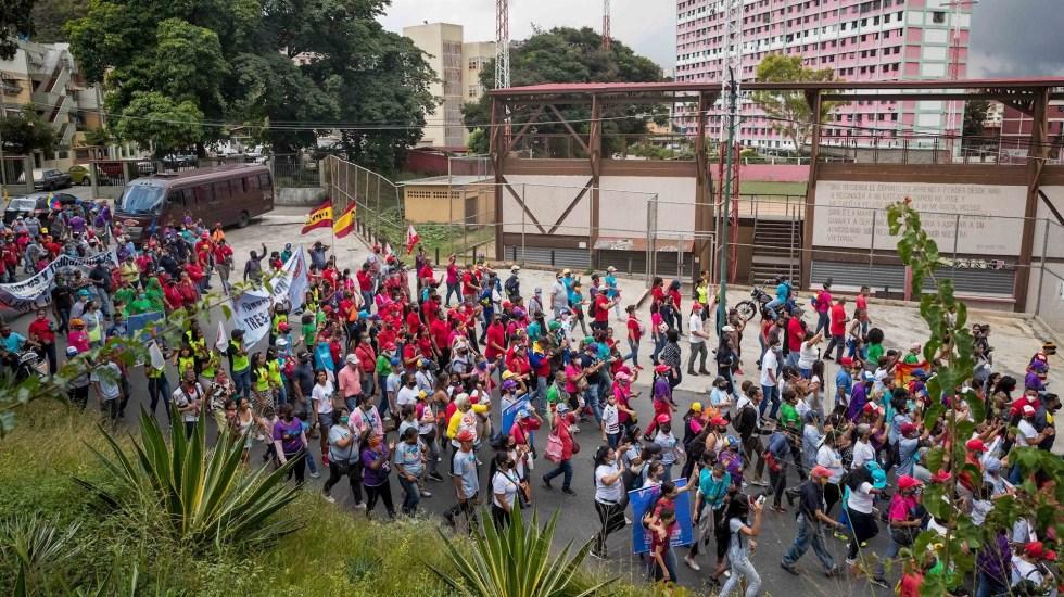 Abstenerse o votar, cruce de últimas llamadas para los comicios venezolanos - Foto de EFE/ Miguel Gutiérrez.