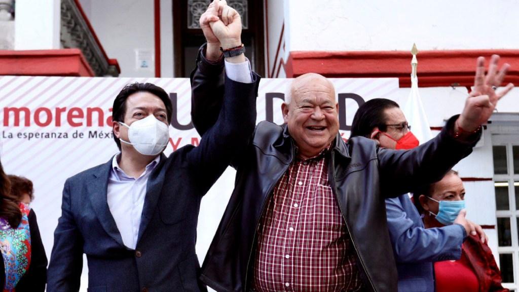 Víctor Castro gana encuesta de Morena y va por la gubernatura de Baja California Sur - Víctor Castro gana encuesta de Morena y va por la gubernatura de Baja California Sur. Foto Twitter @mario_delgado
