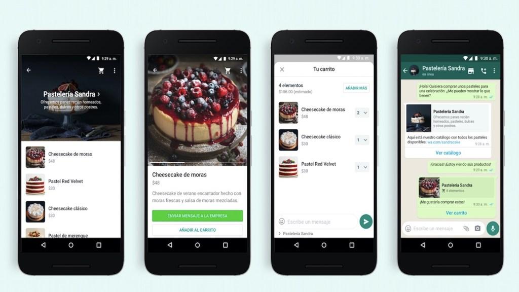WhatsApp tendrá la opción de carritos de compra en la aplicación - Foto de WhatsApp