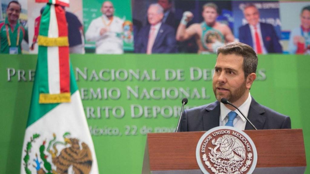 Inhabilita SFP por diez años a Alfredo Castillo, extitular de la Conade - Alfredo Castillo, extitular de la Conade. Foto de Facebook