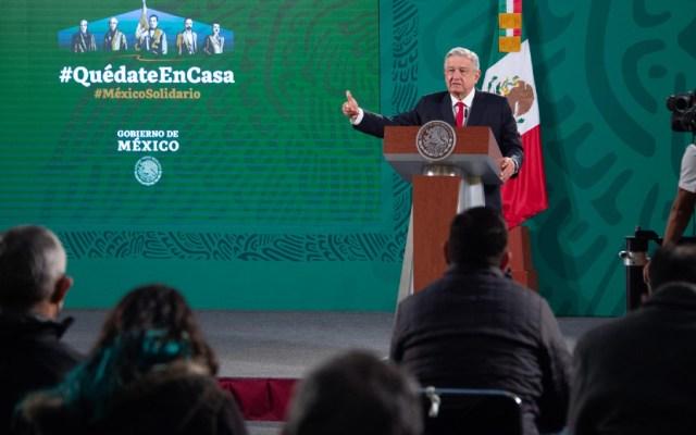 """""""Les molesta la mañanera"""": AMLO decisión del INE sobre conferencias matutinas - Foto de EFE"""