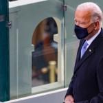 Biden da un giro de timón: vuelve a Acuerdo de París y pide el uso de mascarilla - Joe Biden durante investidura como presidente de EE.UU. Foto de EFE