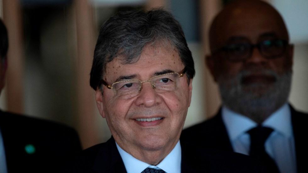 Muere por COVID-19 el ministro de Defensa de Colombia, Carlos Holmes Trujillo - Foto de EFE