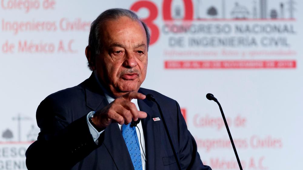Carlos Slim cumple 81 años ingresado en un hospital público por COVID-19 - Foto de EFE