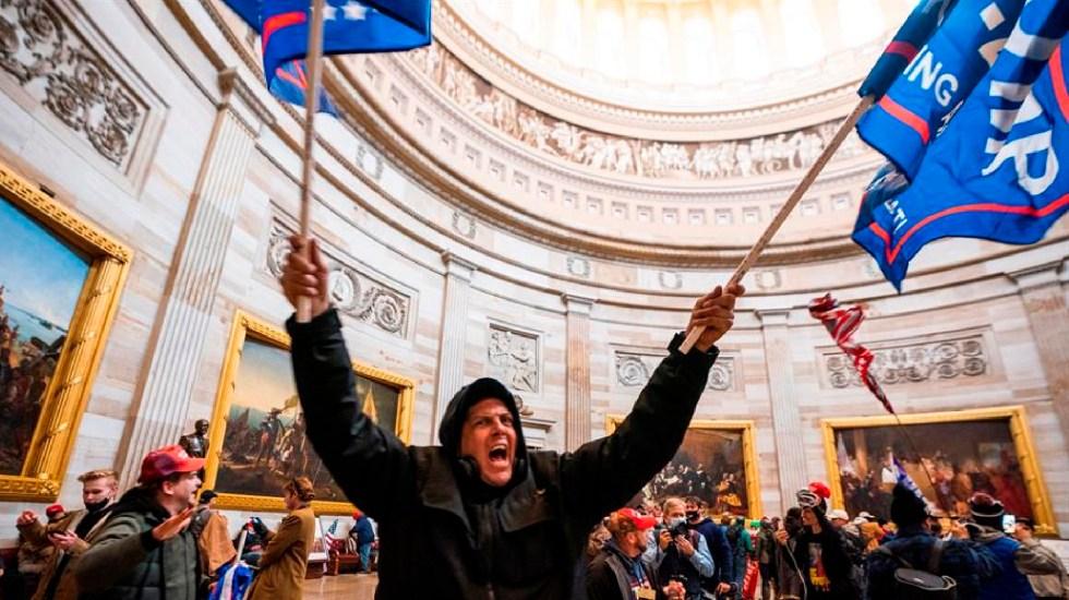 Con indignación, famosos de EE.UU. condenan asalto al Capitolio - Con indignación, famosos de EE.UU. condenan asalto al Capitolio. Foto EFE
