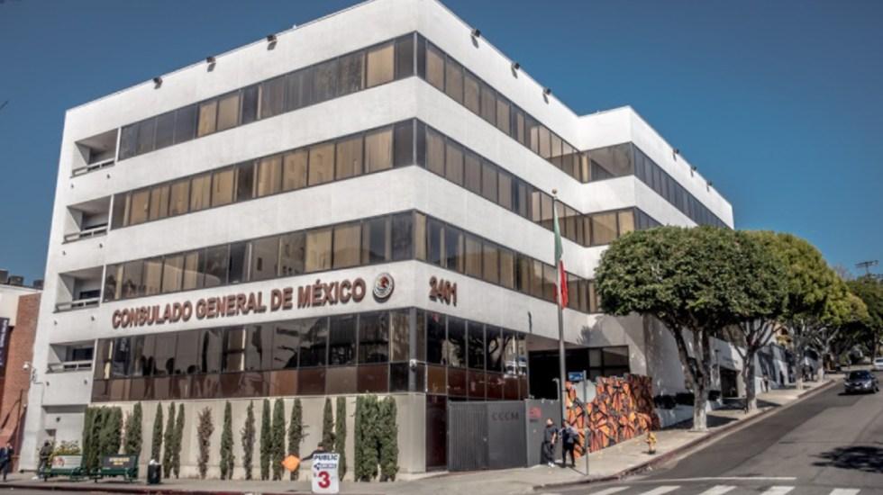 Despiden a 80 empleados de consulados de México en EE.UU. - Consulado de México en Los Ángeles. Foto de Google Maps / Ricardo Herrera