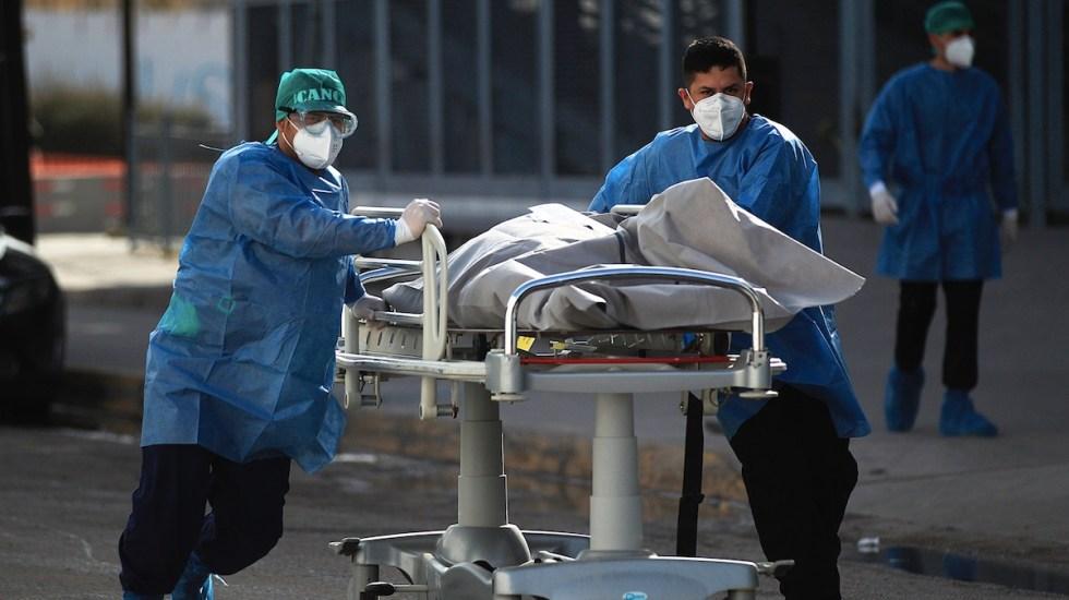México registró en las últimas 24 horas 4 mil 99 nuevos casos y 436 muertes por COVID-19 - Foto de EFE
