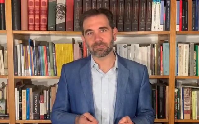 Tutela a 'mañaneras', congruente con la Constitución y evita que se ponga en riesgo la elección: INE - Lorenzo Córdova Vianello. Captura de pantalla