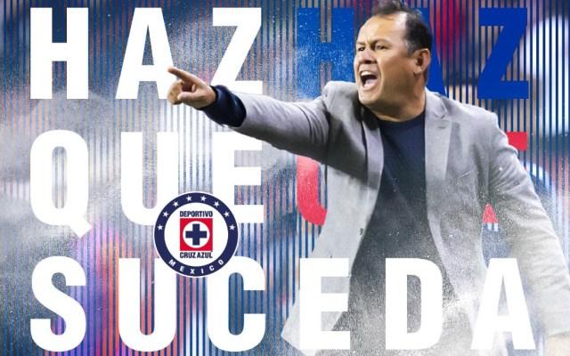 Juan Reynoso será el nuevo director técnico de Cruz Azul - Cruz Azul Juan Reynoso