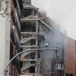 #Video Confirman dos muertos por explosión en edificio de Madrid