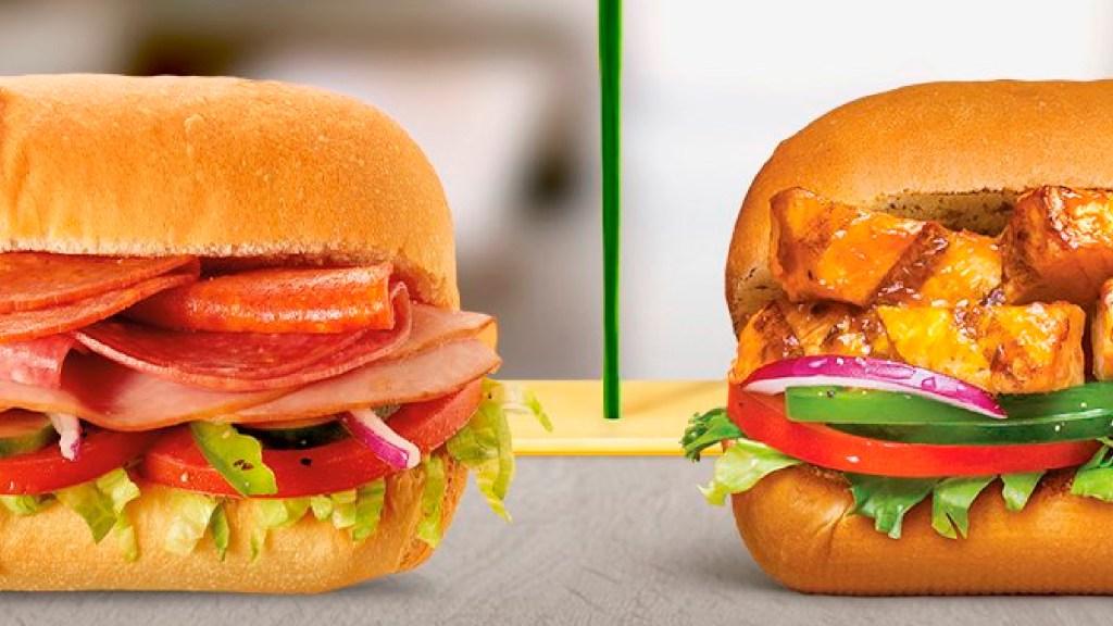"Demandan a 'Subway' en California por usar ""atún falso"" - Demandan a la cadena de comida rápida 'Subway' por usar atún falso. Foto Twitter @subwaymexico"