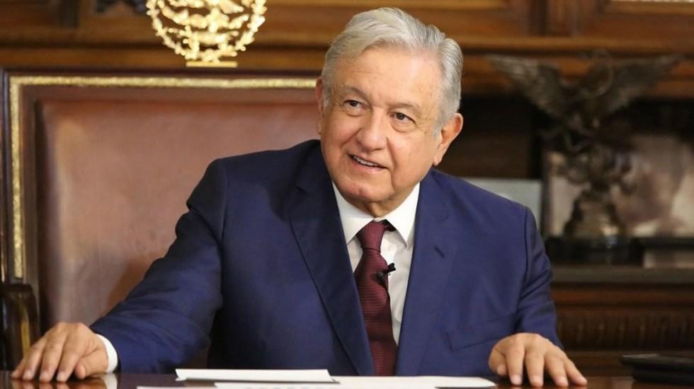 Sin mayores cambios la salud del presidente López-Obrador, confirma López-Gatell - El presidente López Obrador en Palacio Nacional. Foto de @lopezobrador