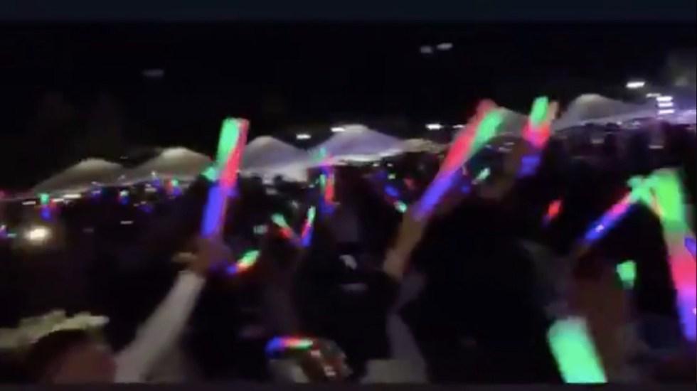 #Video Multan al Hotel Palladium en República Dominicana por masiva fiesta pese al COVID-19 - Captura de pantalla