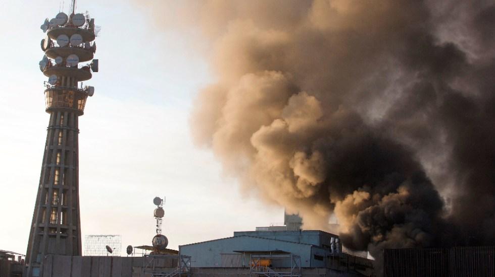 Identifican a mujer policía que murió tras incendio en centro de control del Metro - Foto de EFE
