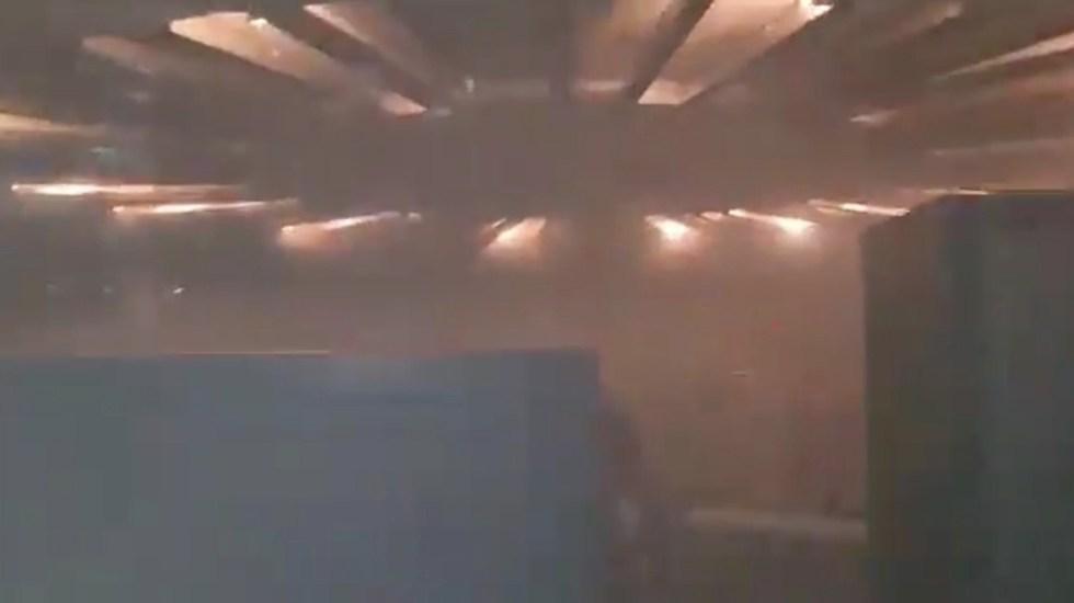 """#Video """"No sabemos qué es lo que está pasando"""", así inició la emergencia por incendio en subestación eléctrica del Metro - Captura de pantalla"""