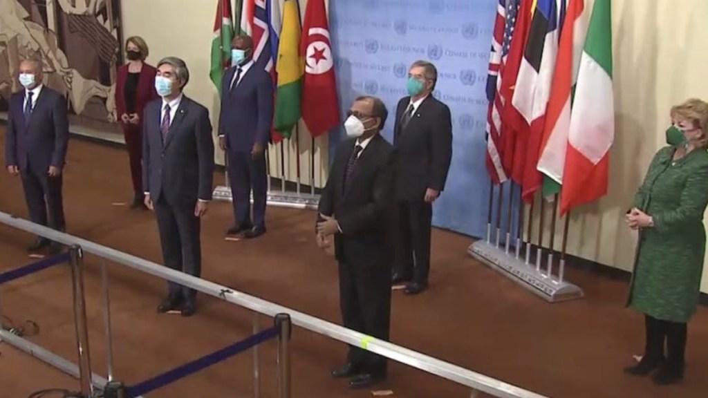 México se compromete con la paz y la seguridad internacionales en Consejo de Seguridad de la ONU - Instalación de los nuevos miembros no permanentes del Consejo de Seguridad de la ONU. Foto de @MexOnu