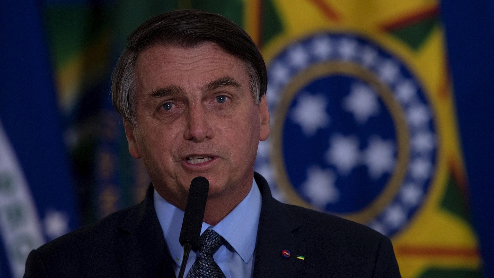 Jair Bolsonaro Brasil presidente mandatario