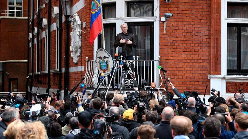 Reino Unido rechaza la extradición de Assange a EE. UU. por motivos de salud - Foto de EFE