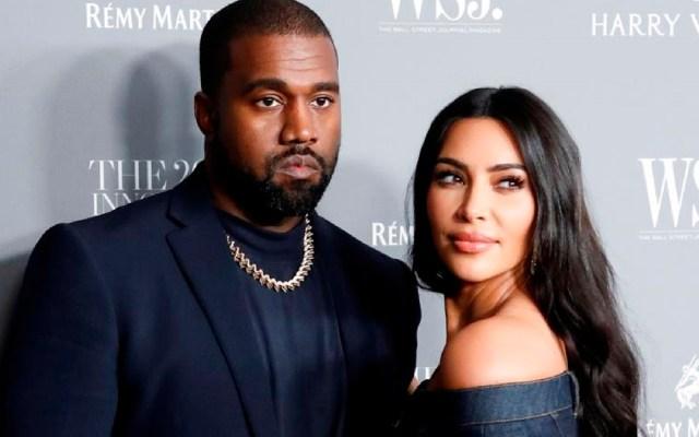 Kanye West y Kim Kardashian, al borde del divorcio - Kanye West y Kim Kardashian, al borde del divorcio. Foto EFE