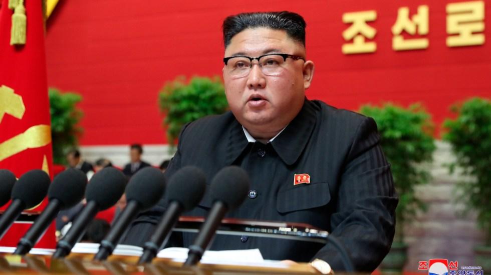 Kim Jong-un admite ante el partido único que el país pasa penurias económicas - Foto de EFE