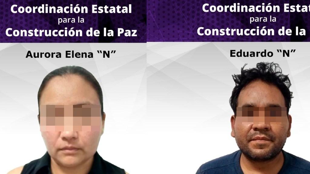 Liberan a secuestrado y detienen a presuntos responsables en Morelos - Liberan en Morelos a persona secuestrada y detienen a pareja dedicada al secuestro. Foto Especial