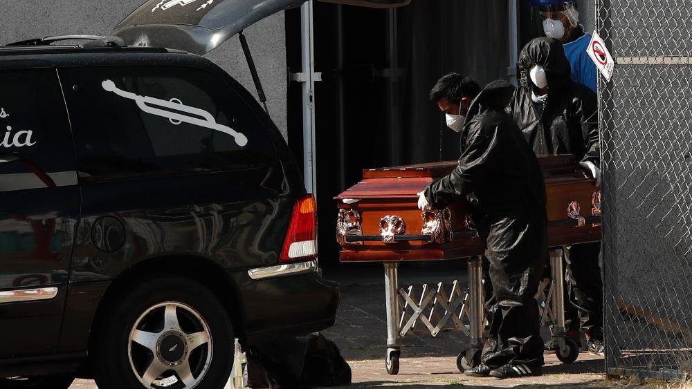 México, el país con la mayor tasa de mortalidad por COVID-19: Universidad Johns Hopkins - Foto de EFE