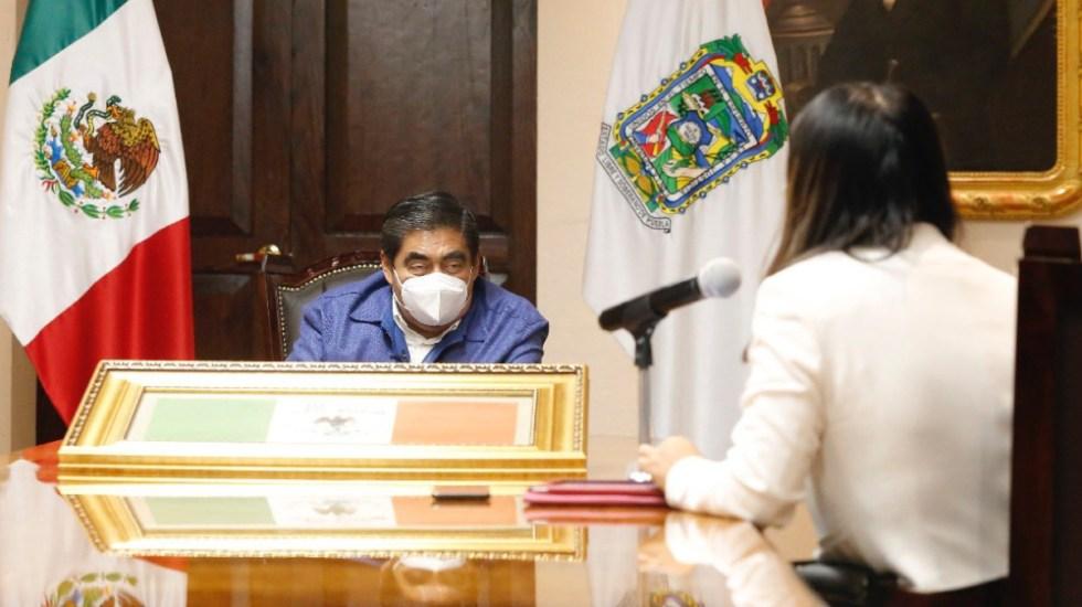 Puebla regresa a Semáforo Rojo por COVID-19 - Foto de @MBarbosaMX