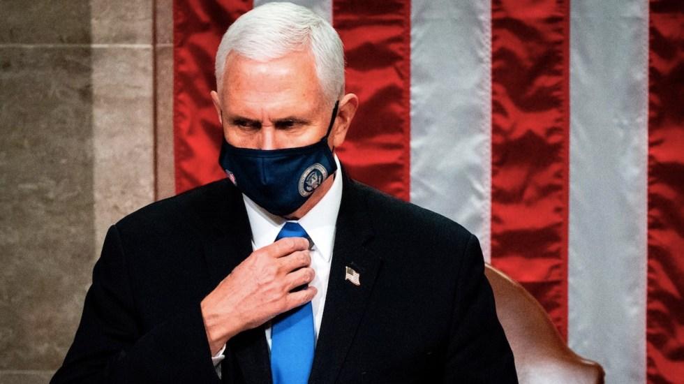 Mike Pence asisitiría a la inauguración de Joe Biden en caso de ser invitado - Foto de EFE