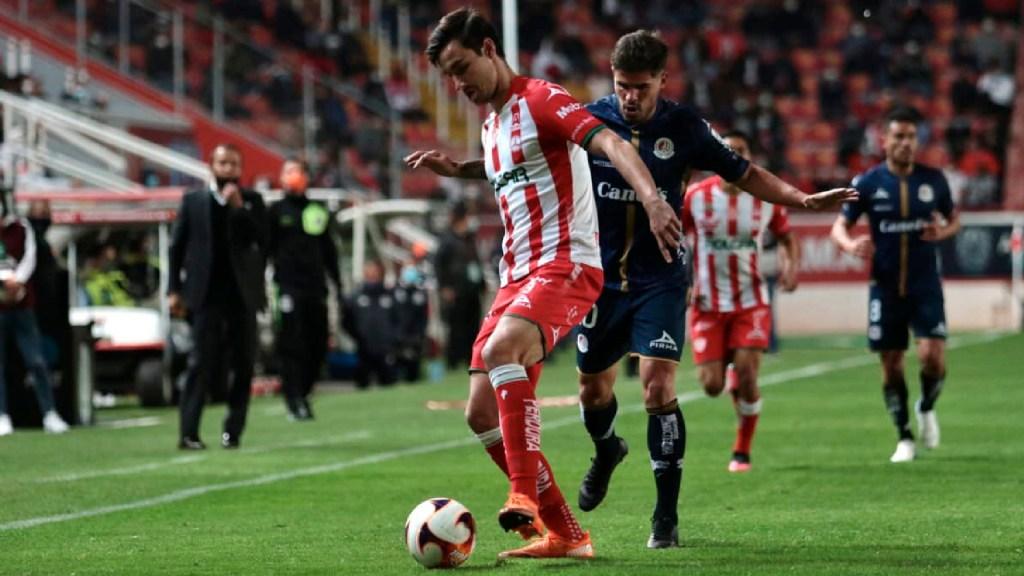 Se investigará lesión de Unai Bilbao para hacer correcciones en Liga MX: Mikel Arriola - Mikel Arriola afirma que se investigará lesión de Unai Bilbao para hacer correcciones en Liga MX. Foto Twitter @ClubNecaxa