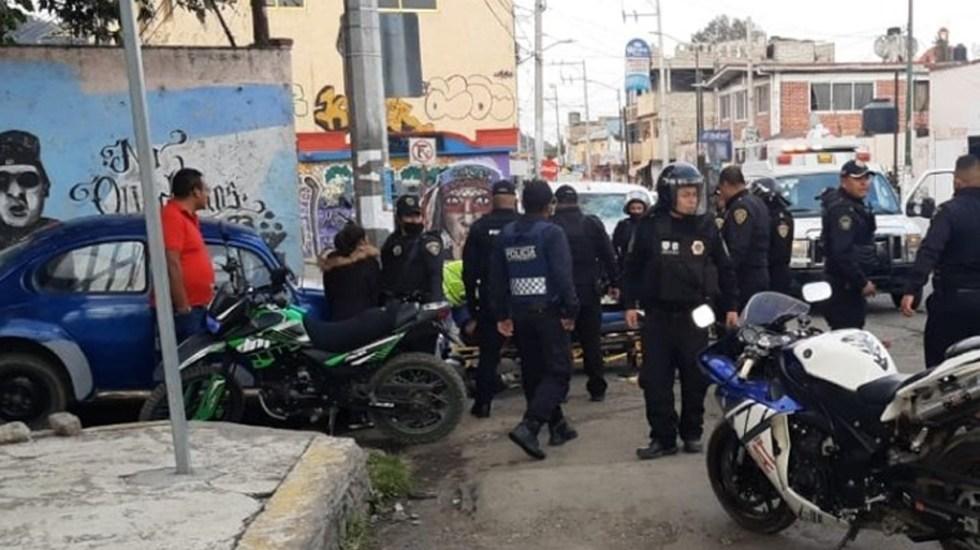 #Video Detención de presuntos narcomenudistas desata balacera en Topilejo; hay 19 detenidos - Movilización policial en San Miguel Topilejo por balacera. Foto de @alertasurbanas
