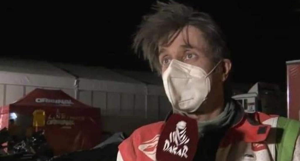 Piloto cae durante el Rally Dakar; lo operan y se encuentra en coma inducido - Pierre Cherpin