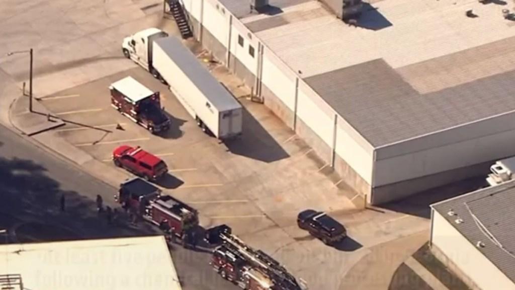 Fuga de químicos en procesadora de alimentos de Atlanta deja seis muertos - Planta procesadora de alimentos en Atlanta. Captura de pantalla