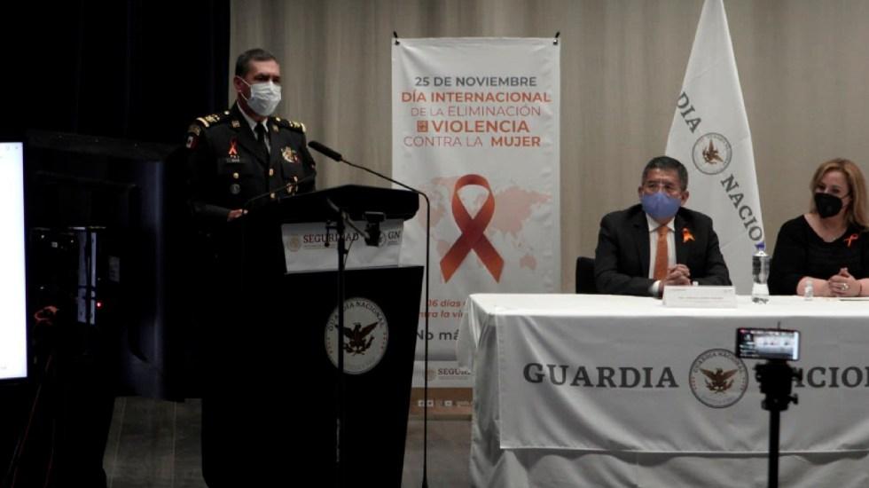 Comandante de la Guardia Nacional, negativo a COVID-19 tras gira con AMLO - Primer comandante de la Guardia Nacional resulta negativo a prueba para detectar COVID-19. Foto Twitter @Luis_R_Bucio