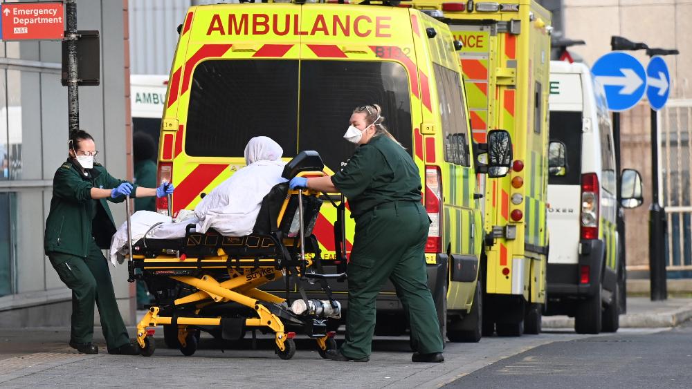 Reino Unido registra el mayor aumento anual de muertes desde la Segunda Guerra Mundial - Foto de EFE