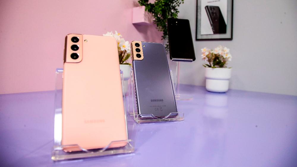 Samsung presenta su producto insignia para 2021 en la CES: el Galaxy S21 - Foto de EFE
