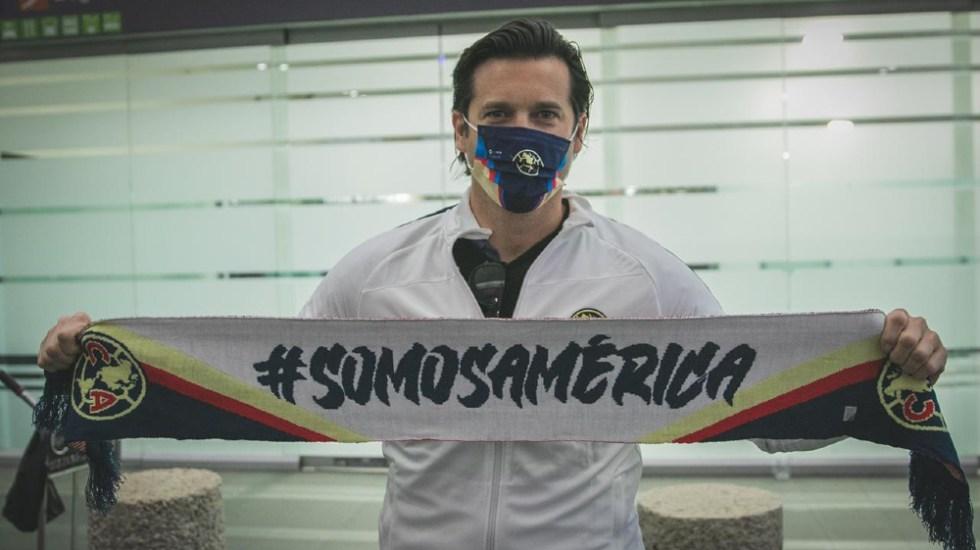 #Video Santiago Solari ya está en México para dirigir al América - Foto de @ClubAmerica
