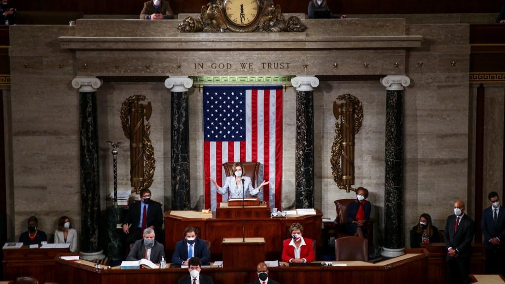 Vota Cámara de Representantes de EE.UU. juicio político contra Donald Trump - Sesión en Cámara de Representantes de EE.UU. Foto de EFE / Archivo