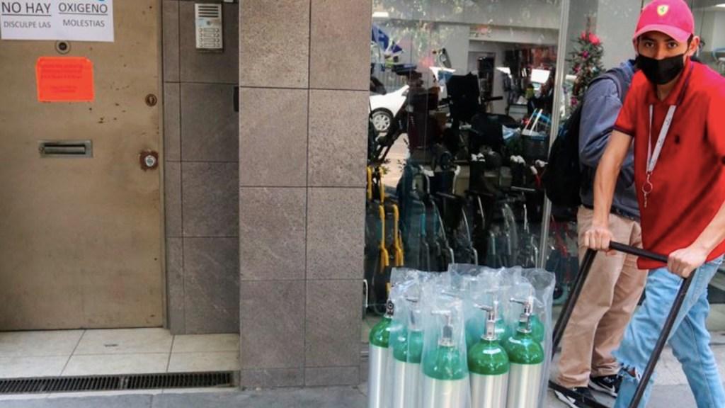 ¿Cuánto cuesta llenar un tanque de oxígeno, según Profeco? - Foto de EFE