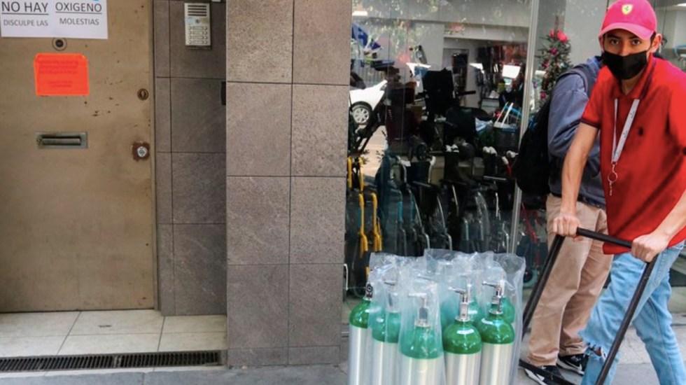Estas son las 55 estaciones autorizadas para la venta de oxígeno medicinal en la Ciudad de México - Foto de EFE