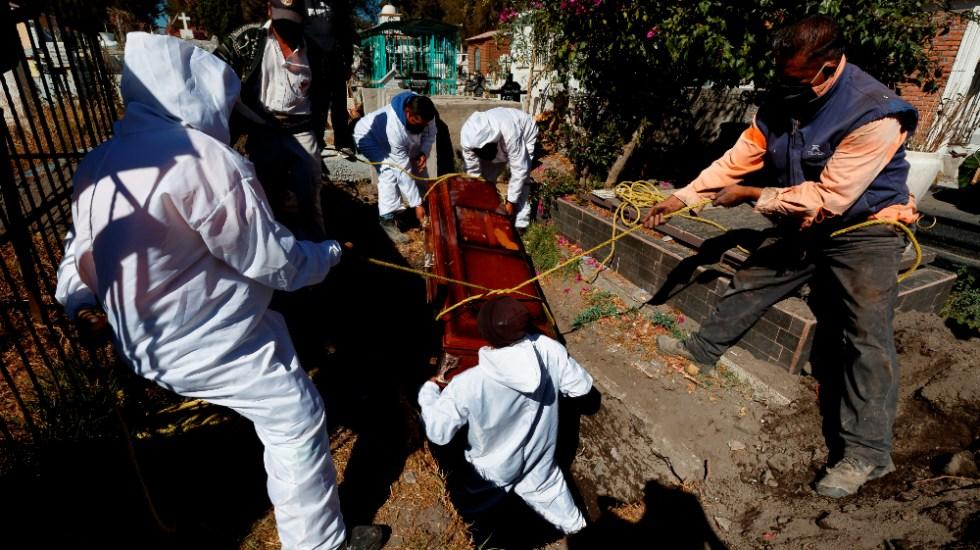 Ciudad de México registra nuevo récord de muertes en un día por COVID-19 - Foto de EFE