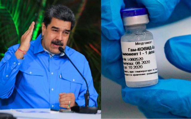 Nicolás Maduro acusa bloqueo de recursos para comprar vacuna contra COVID-19 - Vacuna Sputnik V COVID-19