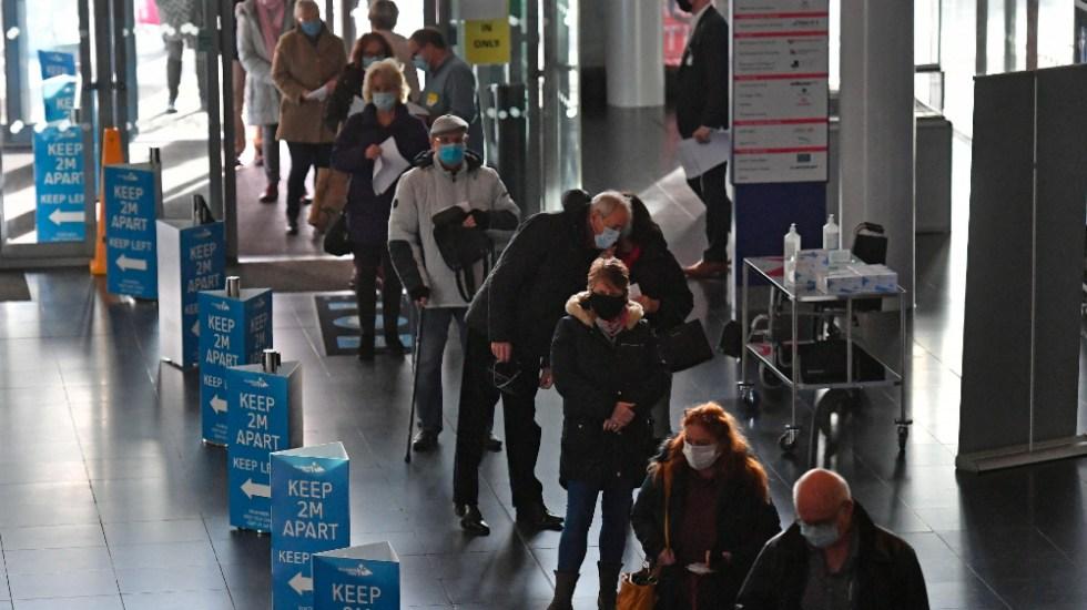 Reino Unido afrontará lo peor de la pandemia en las próximas semanas - Foto de EFE
