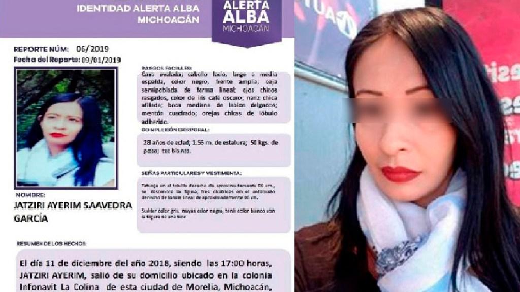 Vinculan a proceso a José Luis C., presunto responsable de la desaparición de su pareja en Michoacán - Vinculan a proceso a José Luis C., presunto responsable de la desaparición de su pareja en Michoacán. Foto Alerta Alba