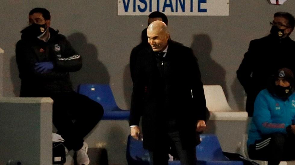 Real Madrid confirma que Zidane da positivo a COVID-19 - Foto de EFE